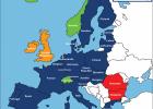 bản đồ khối schengen